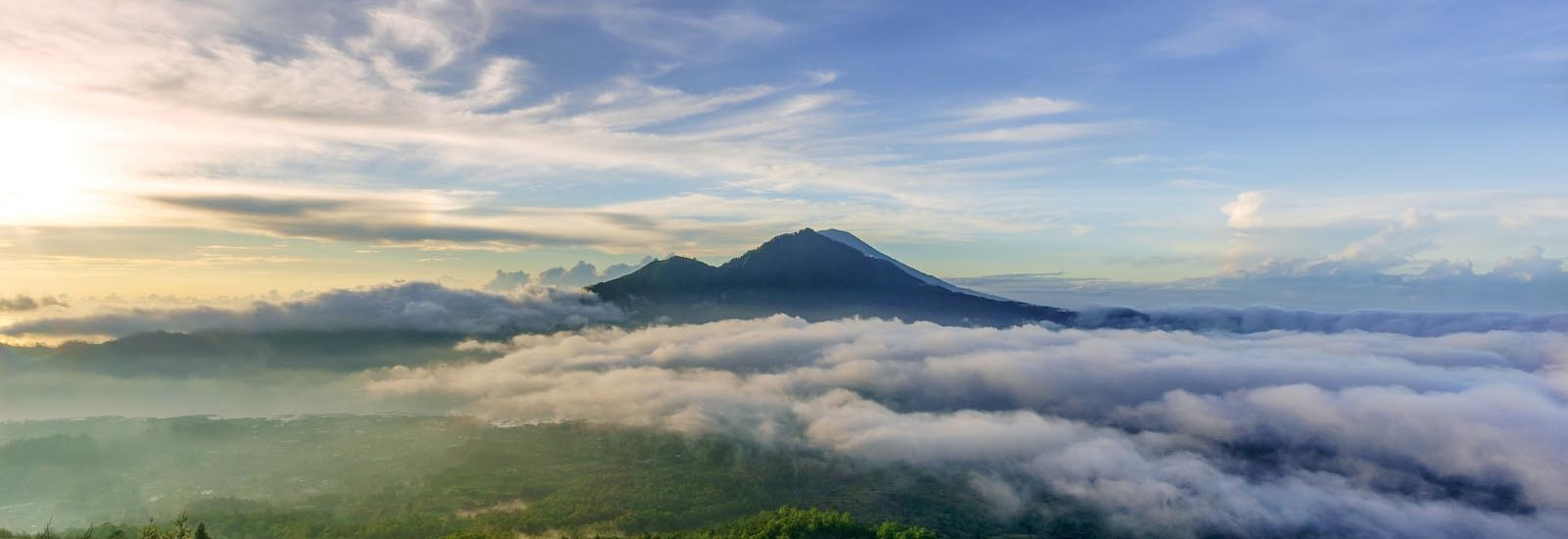 Being able to catch sunrise at 1,717m above sea level on top of Mt Batur was really nice. You get to see the caldera, the monkeys that are living there, as well as being able to cook breakfast (eggs) in the crater (it's an active volcano) was really worth the 2-hour hike that starts at 4am (pickup from the homestay at 2am!). The mountains in the foreground are Mt Abang and Mt Agung, which is the highest point in the island of Bali at 3,031m.
